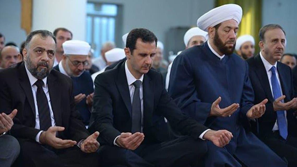 President Bashar Assad AFP