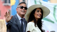 It's official! Clooney marriage certificate revealed