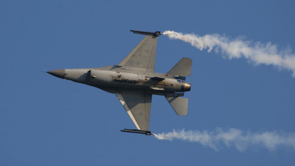 اول غارة لمقاتلة اف-16 بلجيكية في العراق
