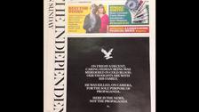 UK newspaper marks death of slain British aid worker