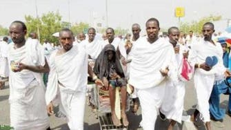 Woman attends hajj accompanied by her eight sons