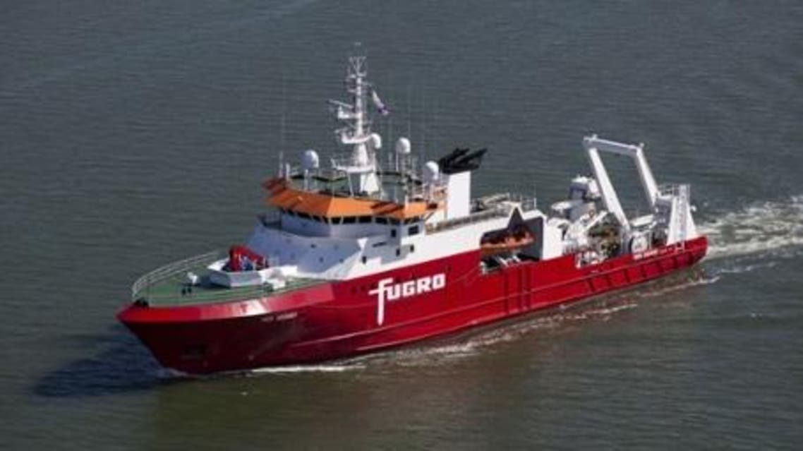 The Australian-contracted survey ship Fugro Discovery, which along with the Malaysian-contracted GO Phoenix, is continuing the search for missing Malaysia Airlines flight MH370. (AFP)