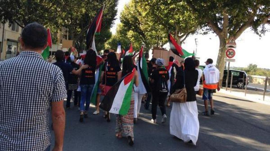 نشطاء يقتحمون مهرجان الفيلم الاسرائيلي في فرنسا