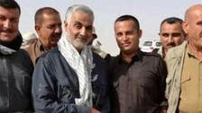 """صورة لقائد """"فيلق القدس"""" إلى جانب مقاتلين أكراد"""