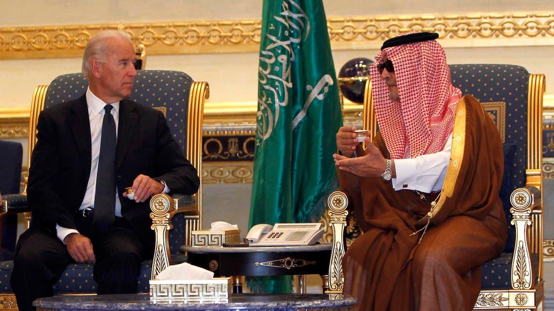 Biden Faisal Reuters