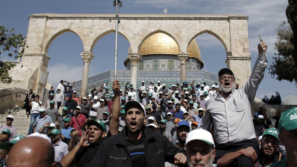 Al-Aqsa mosque AFP