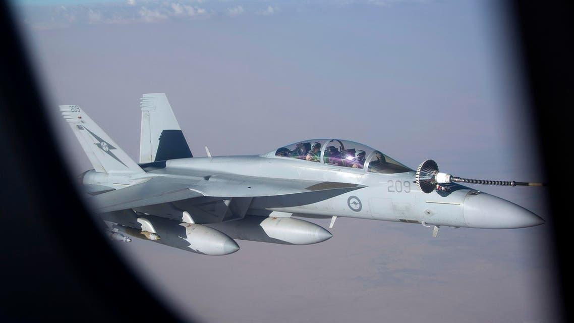 الطيران سلاح الجو الأسترالي الاسترالي الحرب على الإرهاب التحالف الدولي