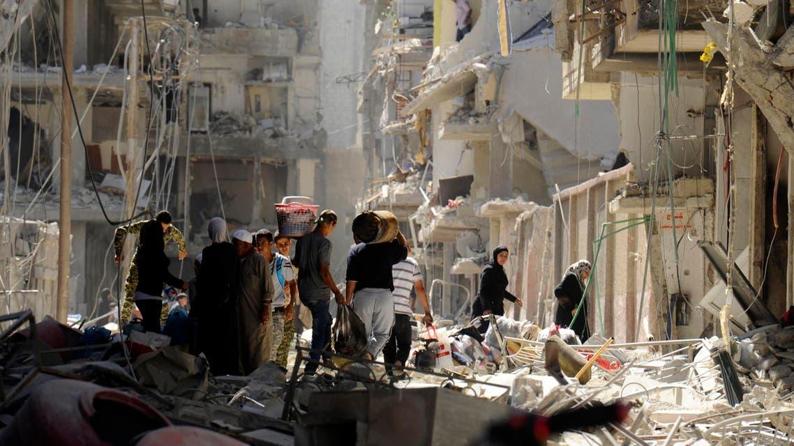 سوريا قصف الأحياء 3