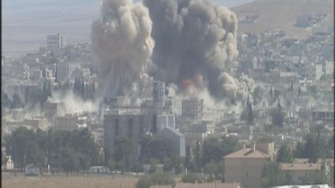 THUMBNAIL_ 9 غارات للتحالف في سوريا الثلاثاء والأربعاء