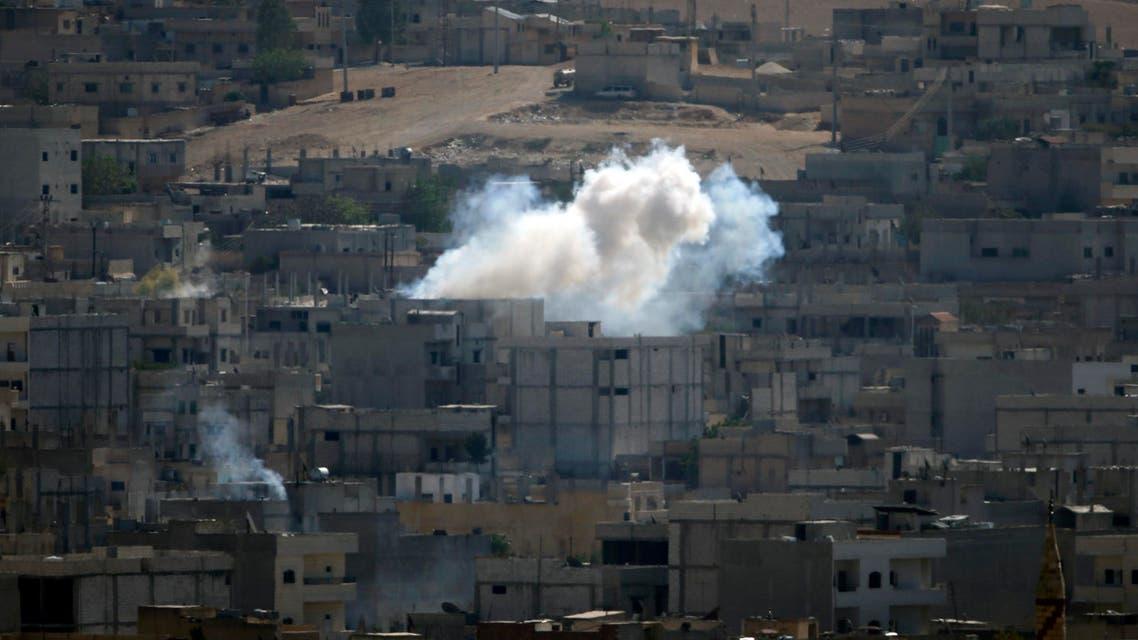 القصف على كوباني