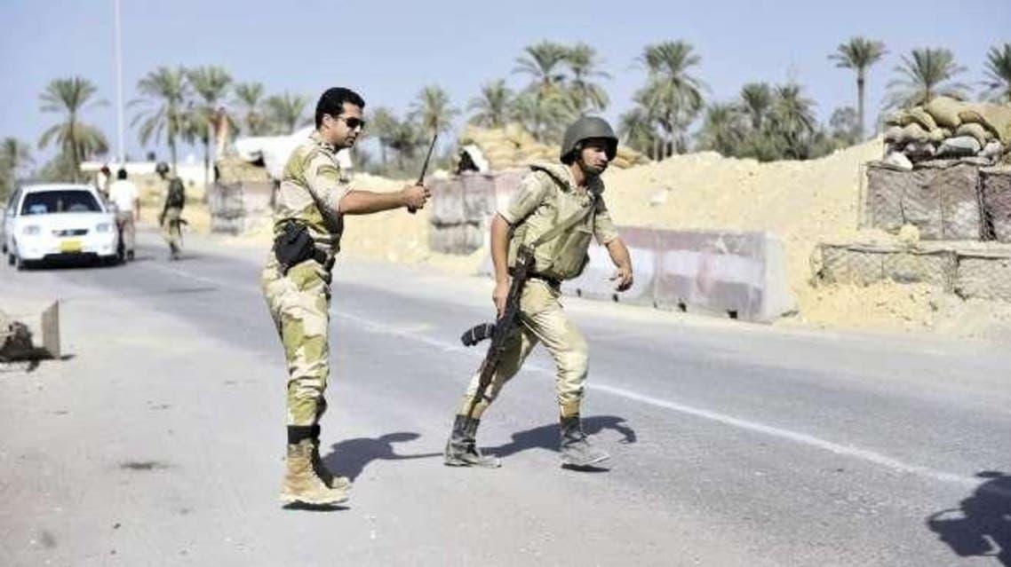 قوات الأمن المصرية بشمال سيناء