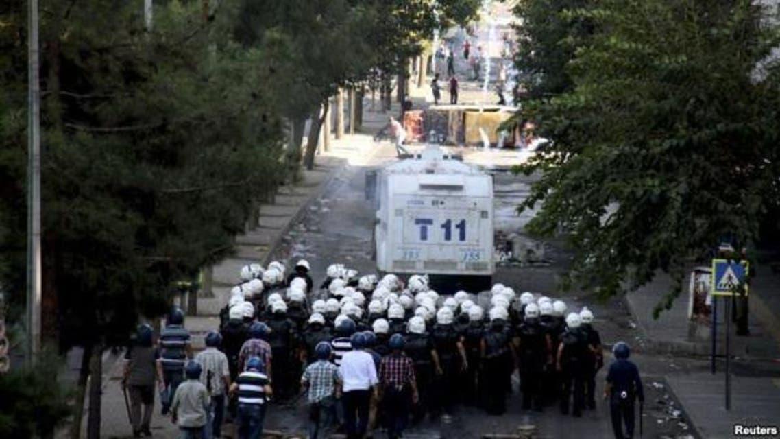 ترک کردوں کے مظاہرے