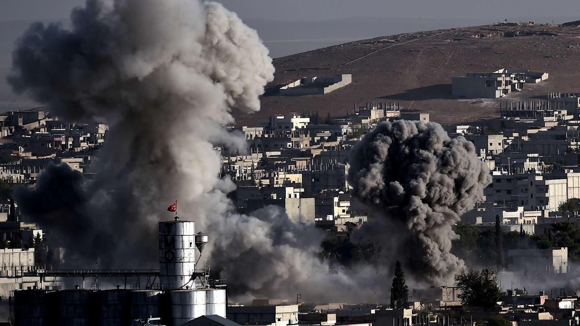 Ain al-Arab Kobane Turkey Syria ISIS AFP