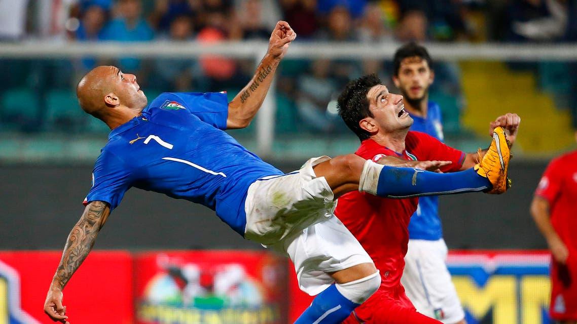 محاولة فاشلة من الإيطالي زازا