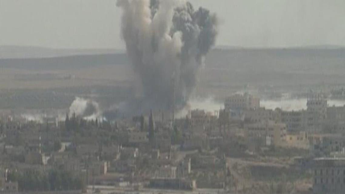 THUMBNAIL_ التحالف الدولي يشن غارات جديدة على داعش