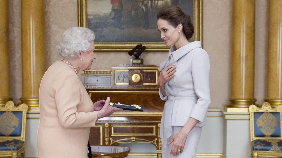 Angelina Jolie honored by the Queen