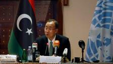 In surprise Libya trip, U.N. chief calls for halt to fighting