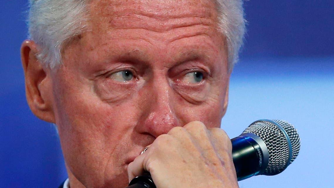 bill clinton reuters