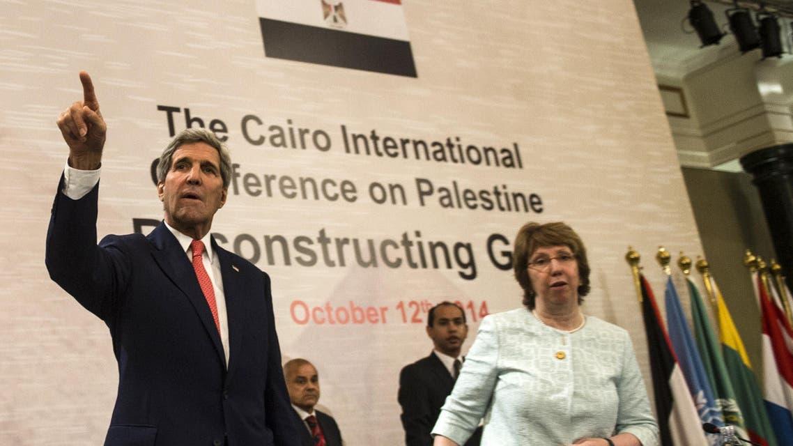 gaza egypt kerry AFP