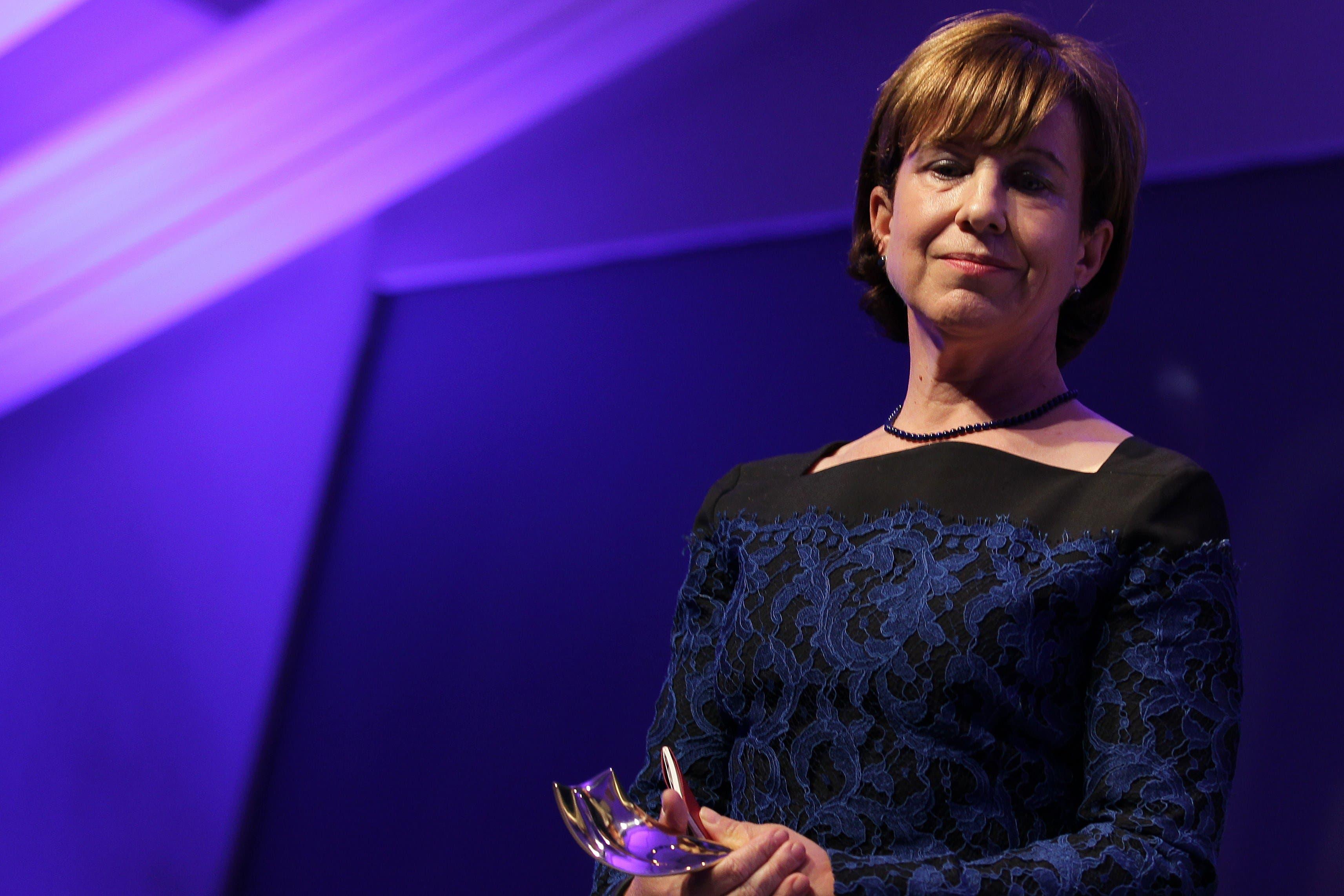 BBC's Lyse Doucet AFP