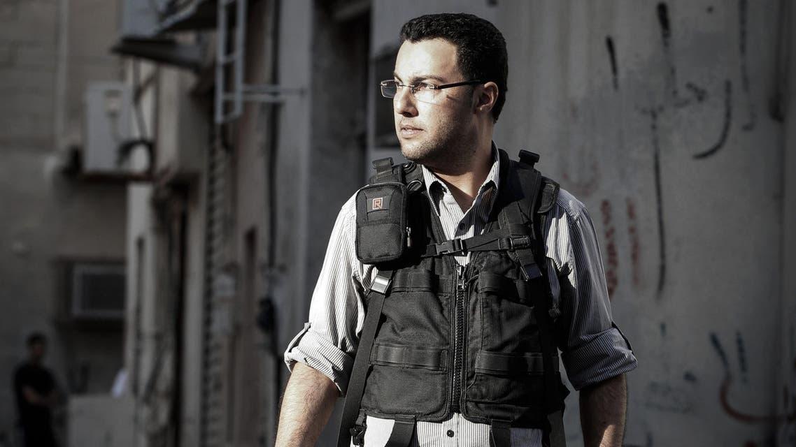AFP photographer Mohammad Al-Shaikh AFP