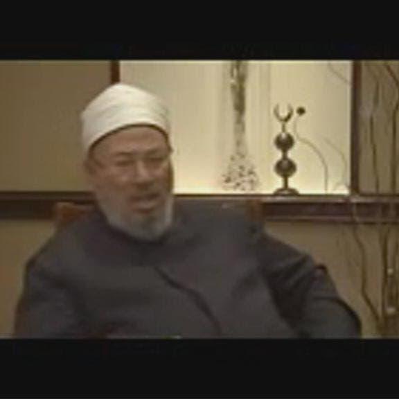 """بالفيديو.. القرضاوي معترفاً: خليفة """"داعش"""" من الإخوان"""