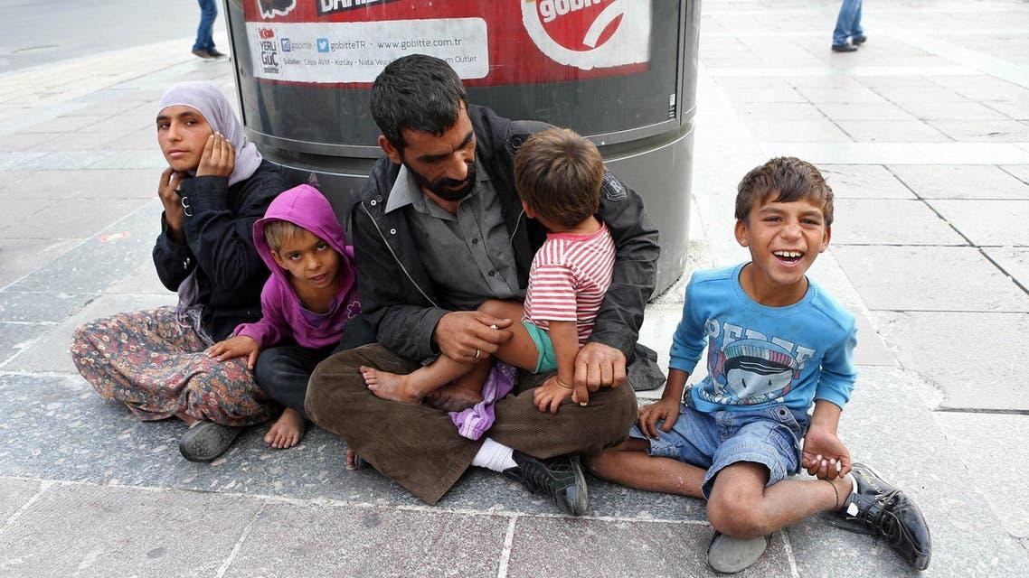 Syrian refugees Turkey Ankara AFP