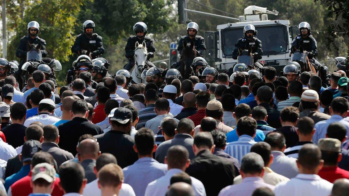 الجيش الإسرائيلي الشرطة صلاة الجمعة في الأقصى في قبة الصخرة في القدس فلسطين مواجهة