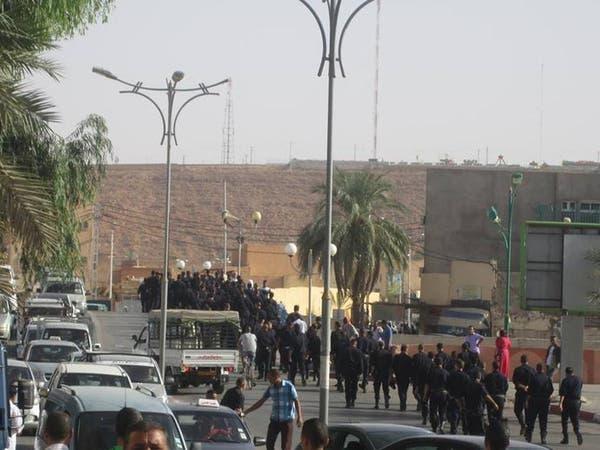 انفلات أمني بغرداية الجزائرية والشرطة في إضراب