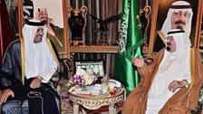 امیر قطر کی جدہ آمد، شاہ عبداللہ سے ملاقات