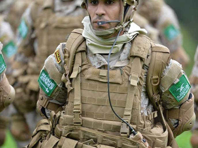 Saudi French commando drills SPA