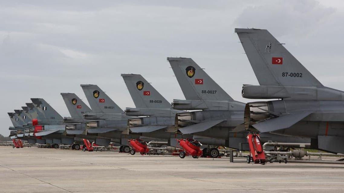 سلاح الجو التركي قاعدة عسكرية تركية  طائرات حربية في تركيا