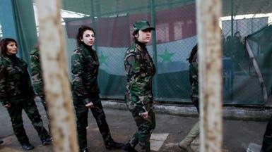 """""""فدائيات الأسد"""".. مقاتلات بتدريب عالٍ لوقف ثوار حماة"""