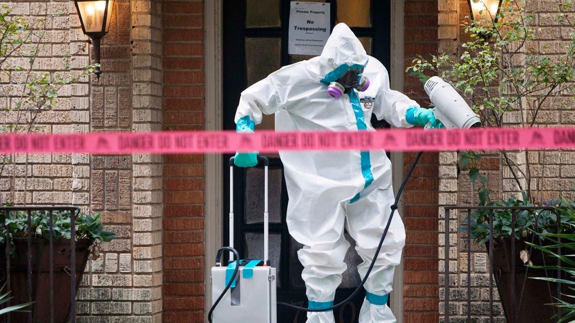 إيبولا في أميركا أمريكا
