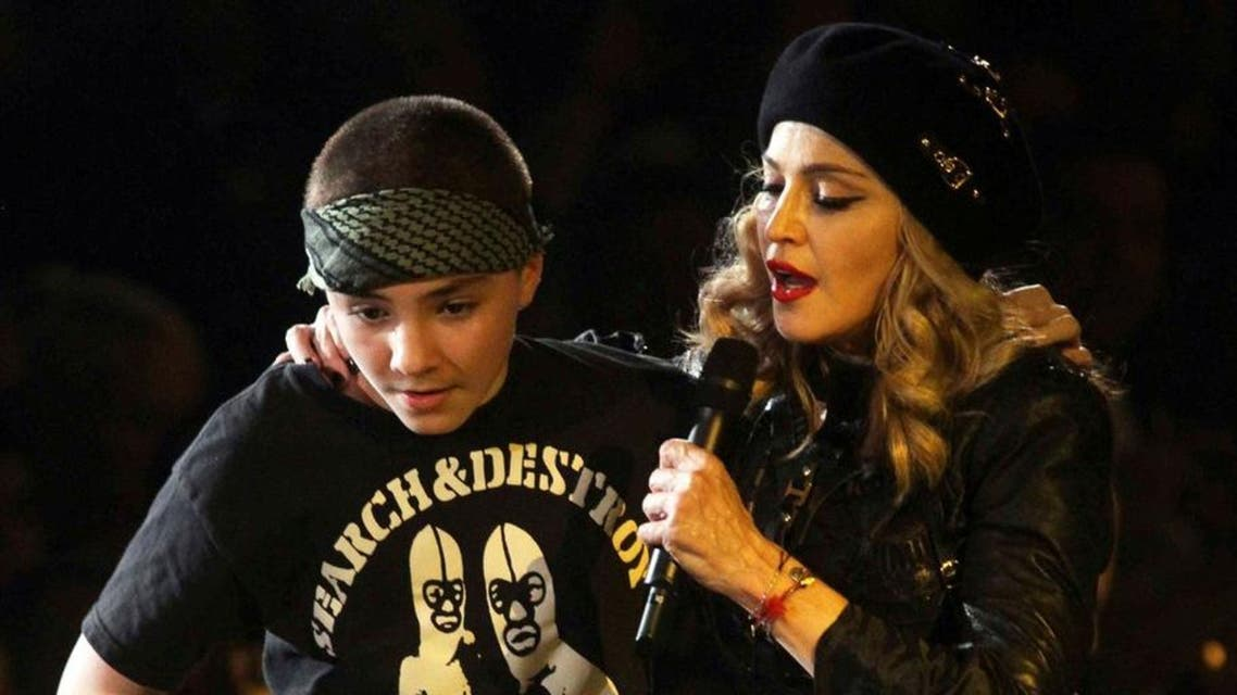 madonna and her son (photo courtesy: The Independent)