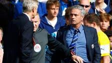 Wenger apologizes for shoving Mourinho