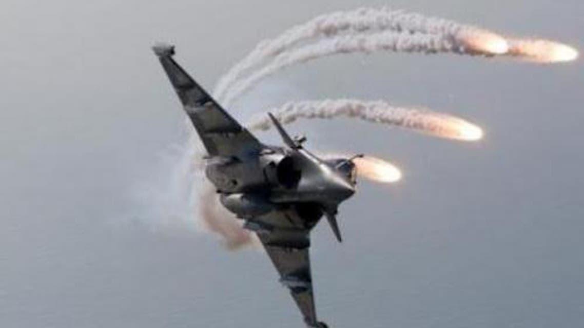 الطائرات الأمريكية التي تقصف داعش