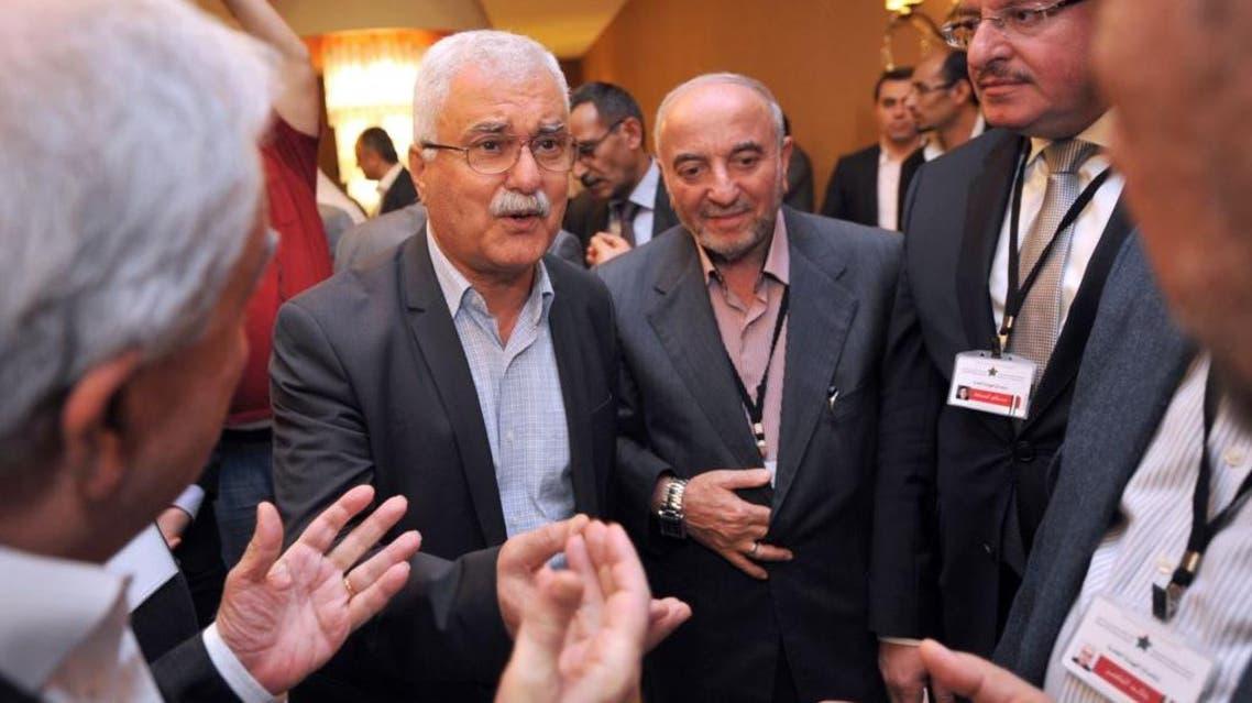 أعضاء من الائتلاف الوطني في اجتماع اسطنبول
