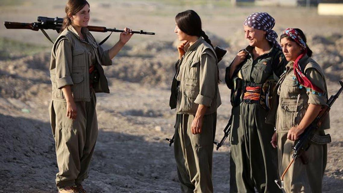 Kurdish woman leads fight against ISIS in Kobane AFP