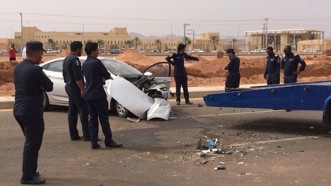 حادث مقتل طالب بجامعة حائل