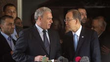 U.N. chief Ban visits war-scarred Gaza Strip