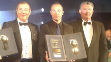 Iniesta becomes first Spaniard to win Golden Foot award