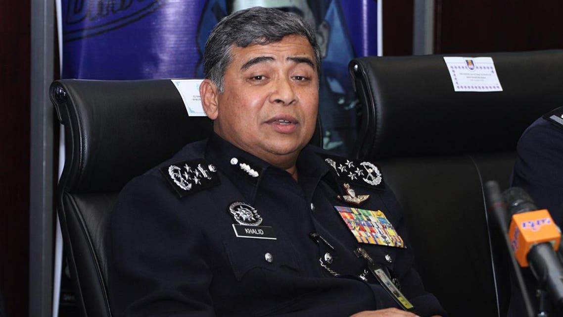 Malaysian national police chief Khalid Abu Bakar said 13 Malaysians were arrested in a raid on a restaurant in a Kuala Lumpur suburb. (Photo courtesy: themalaysianinsider.com)