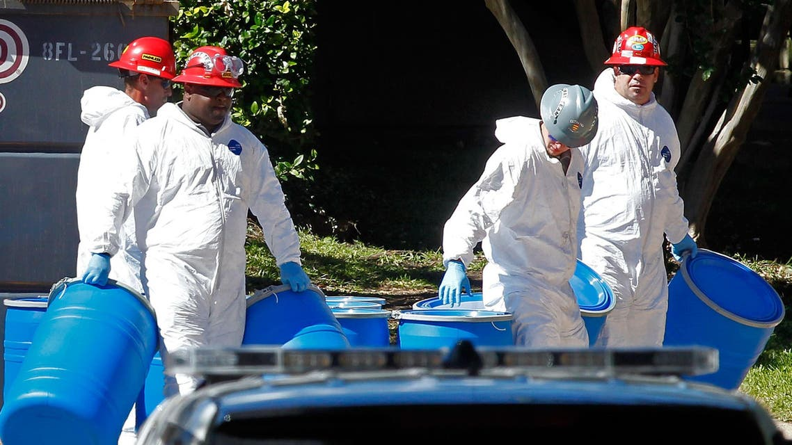 A second healthcare worker in Texas reportedly tested positive for Ebola. (AFP)