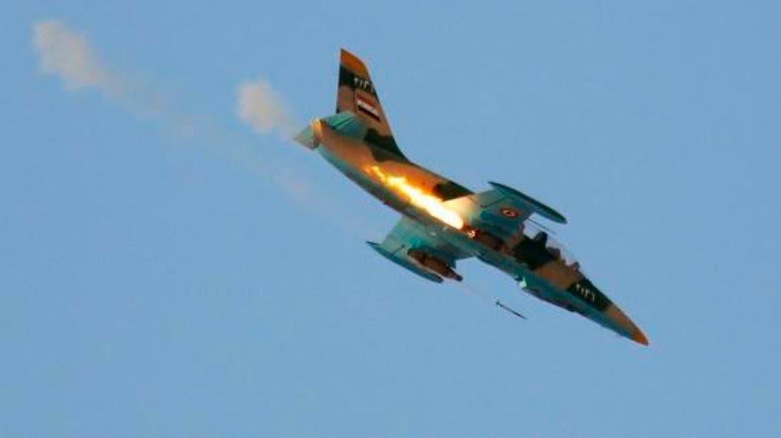 طائرات النظام السوري الحربية
