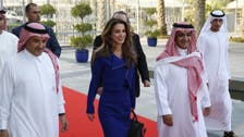 Queen Rania of Jordan visits MBC headquarters in Dubai