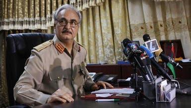 حفتر: لن تفلح حكومة الوفاق بليبيا في ظل الإرهاب