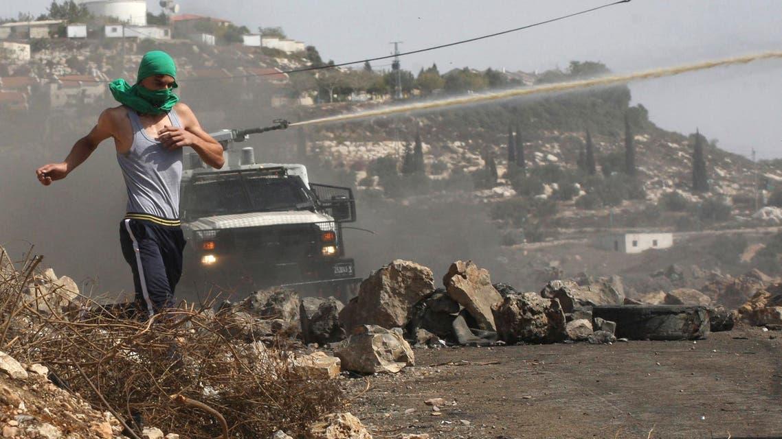 اشتباكات بين فلسطينيين والشرطة الإسرائيلية في الضفة