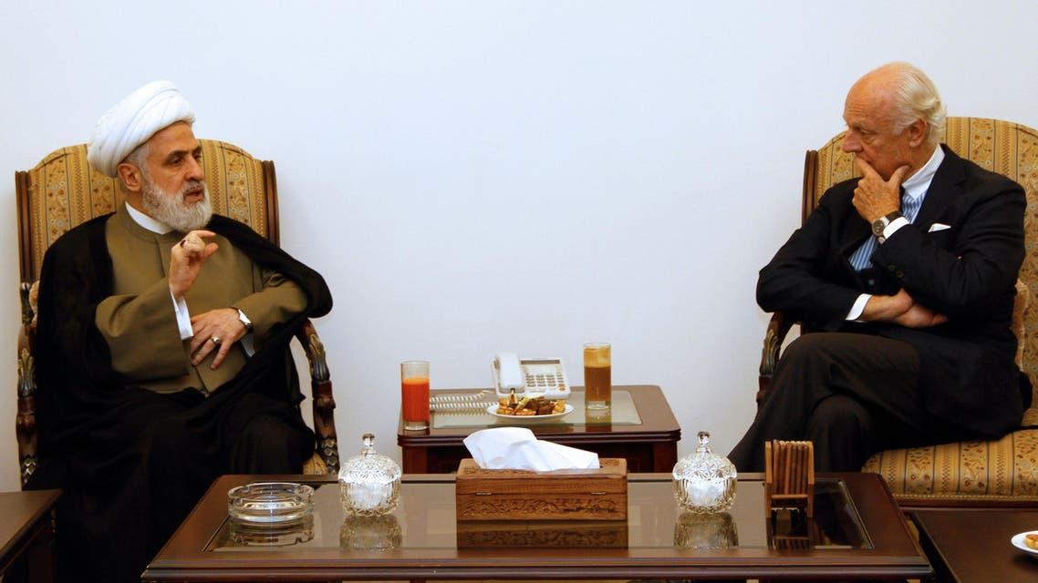 ستيفان دي سمتورا و نعيم قاسم