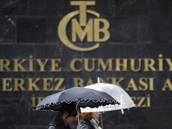 """حيازات الأتراك من عملات أجنبية تهبط و""""المركزي"""" يزيد الاقتراض"""